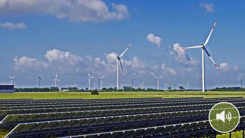 Podcast: Wie viel Photovoltaik und Windkraft brauchen wir?