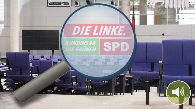 Klima-Wahlprogramm-Check Teil 2: Grüne, Linke, SPD